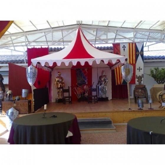 Tenda Medieval (4 m x 4 m)