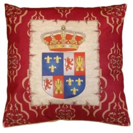 Cojin escudo medieval (50x50 cms.)