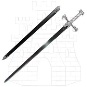 Barbarian sword with sheath - 1