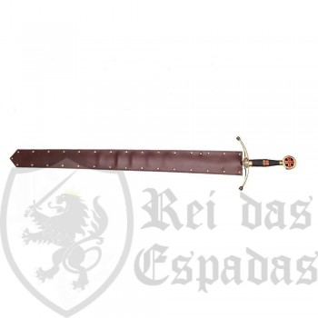 Leather Sheath for straight-bladed swords