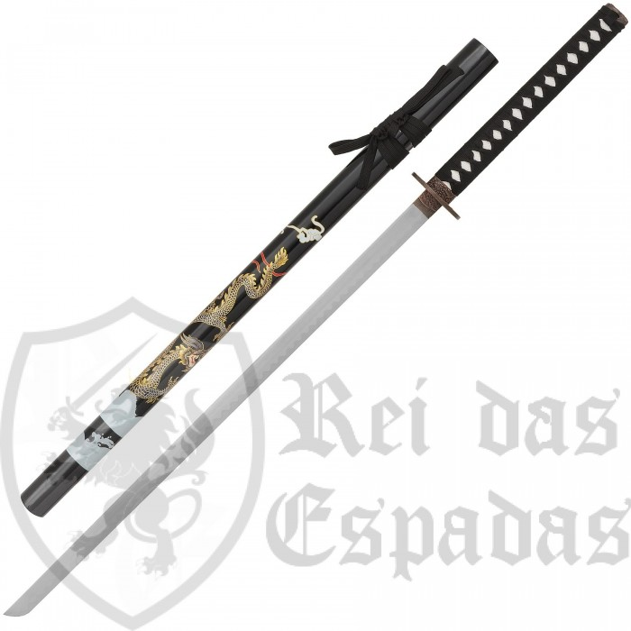 Magnificent Dragon Katana supported