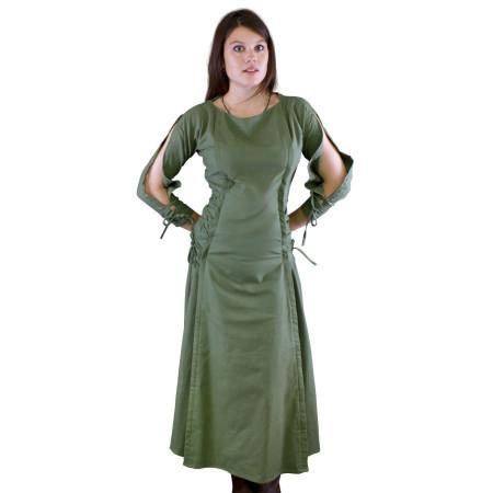 Vestido sacerdotisa, verde