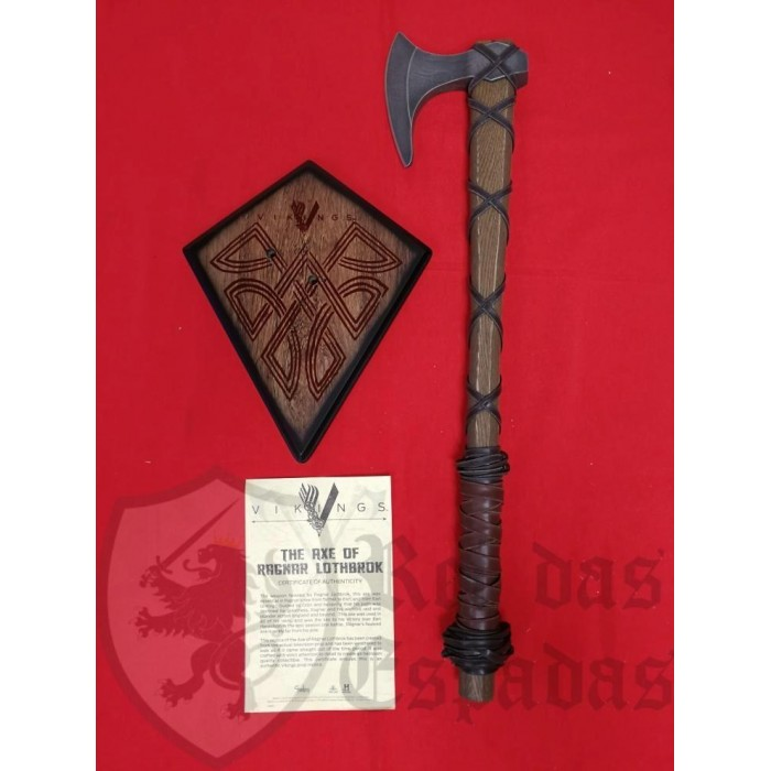 Axe Ragnar Lothbrok Limited Edition OFFICIAL Vikings