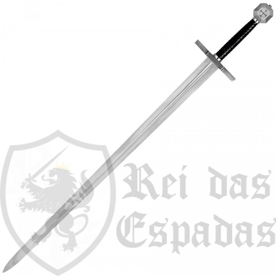 Espada Templaria de la marca y calidad de museo, John Barnett