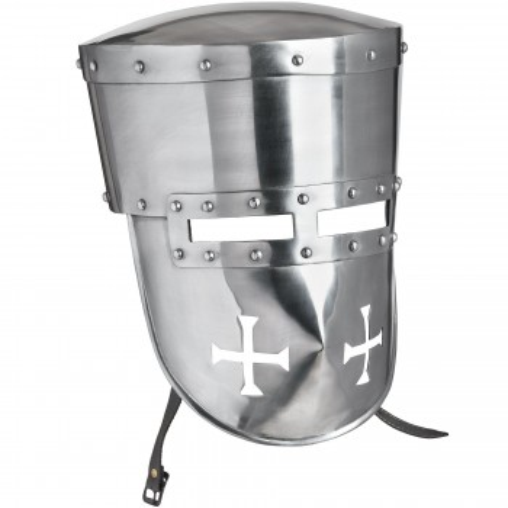 13th Century Templario Helmet for Battle Ready - 1