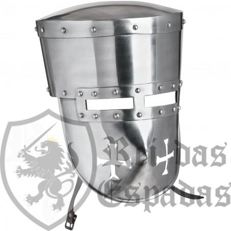 13th Century Templario Helmet for Battle Ready