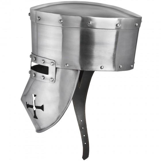 13th Century Templario Helmet for Battle Ready - 2