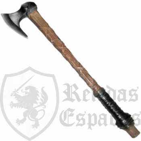 Vikingos - Hacha de Ragnar Lothbrok - Arma de espuma LARP