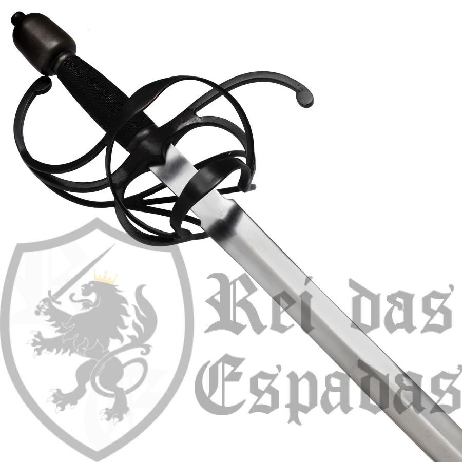 Espada ropera de lazo con vaina, John Barnett