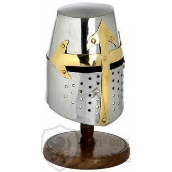 MINI KNIGHTS HELMET (CRUSADER)