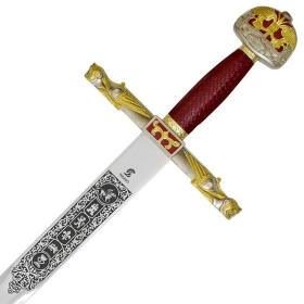 Espada Carlos Magno com bainha - 2
