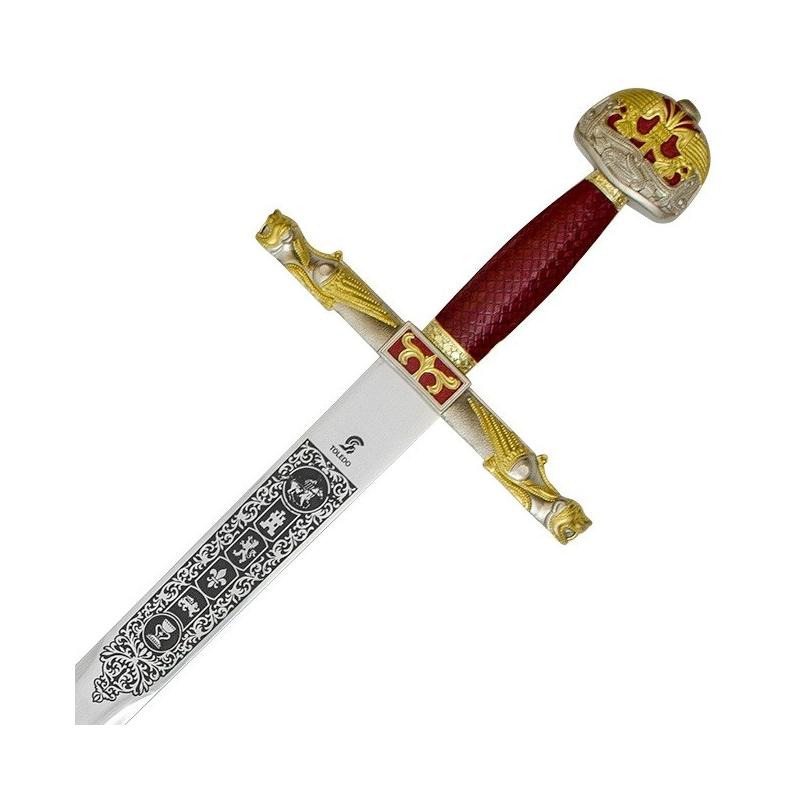 Épée de Charlemagne avec gaine - 2