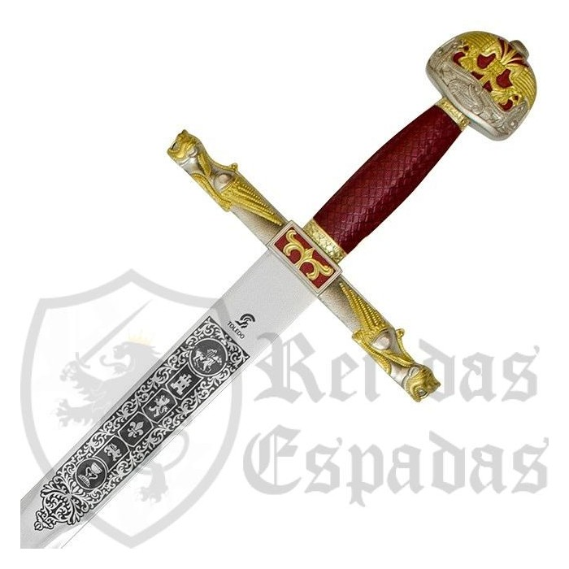 Espada Carlomagno con vaina - 2