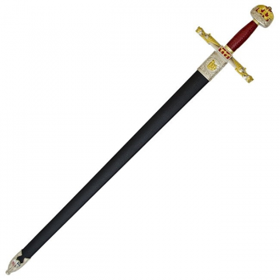 Épée de Charlemagne avec gaine - 3
