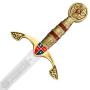 Espada Príncipe Negro sem bainha - 5
