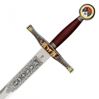Sword Excalibur with Scabbard, King Arthur - 2