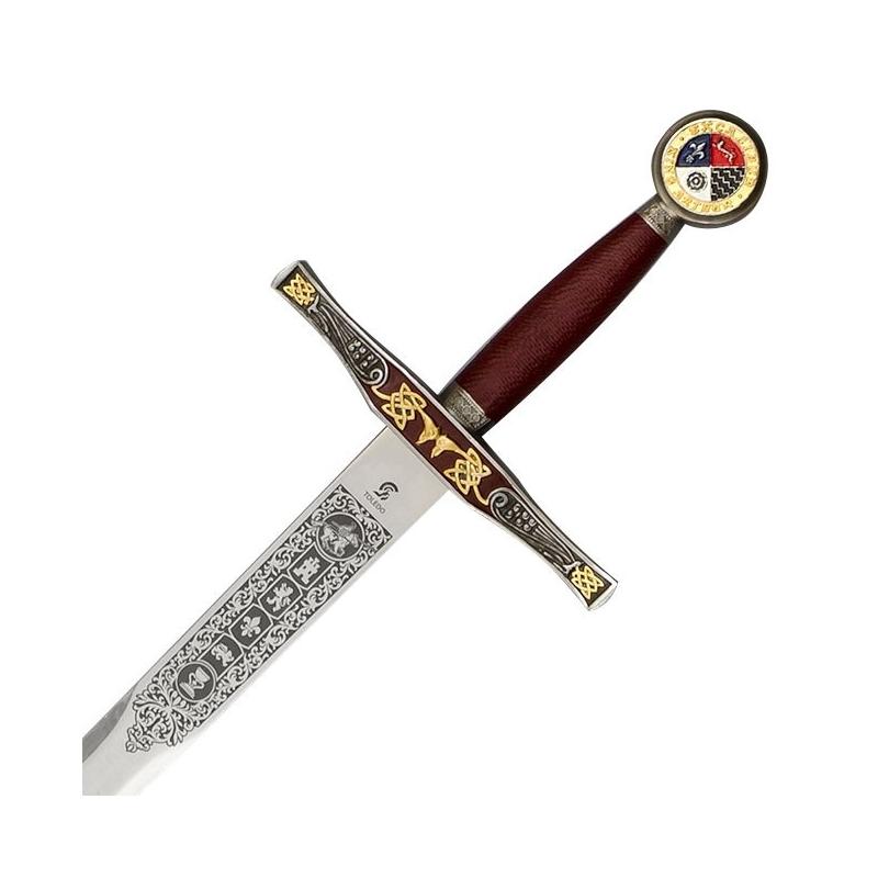 Espada Excalibur com Bainha, Rei Arthur