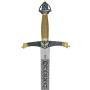 Espada de Lancelot Deluxe con vaina - 2