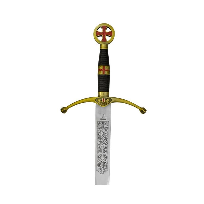 Espada de cruzado sin vaina - 1
