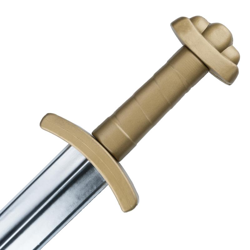 Espada Viking Dourada em latex, Larp