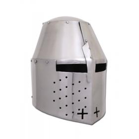 Grande capacete (estilo Pembridge), cerca de 1370, 2 mm de aço - 2