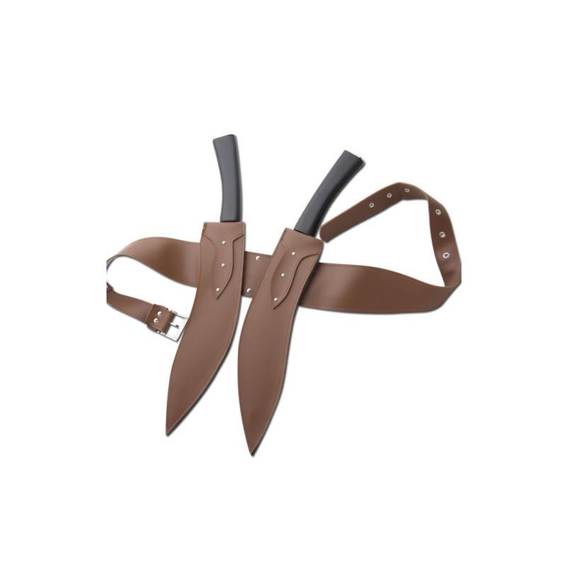 Cuchillos kukri  Alicia de Resident Evil - 5