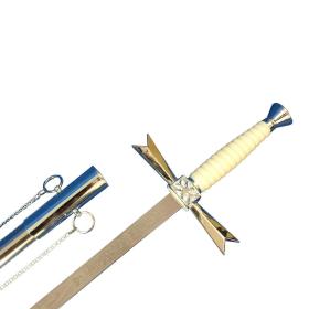 Ceremonial Templario Sabre with metal sheath - 2