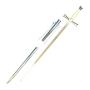 Ceremonial Templario Sabre with metal sheath - 3