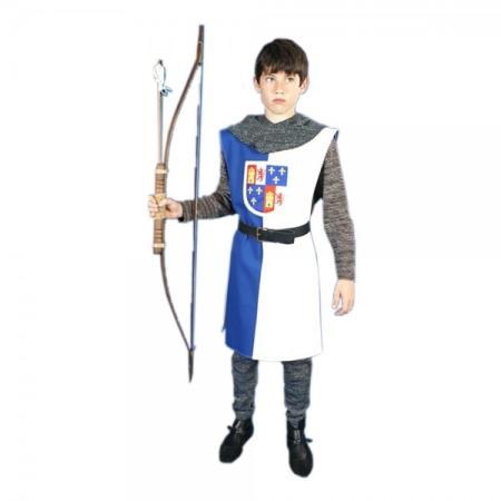 Traje medieval niño sobrevesta