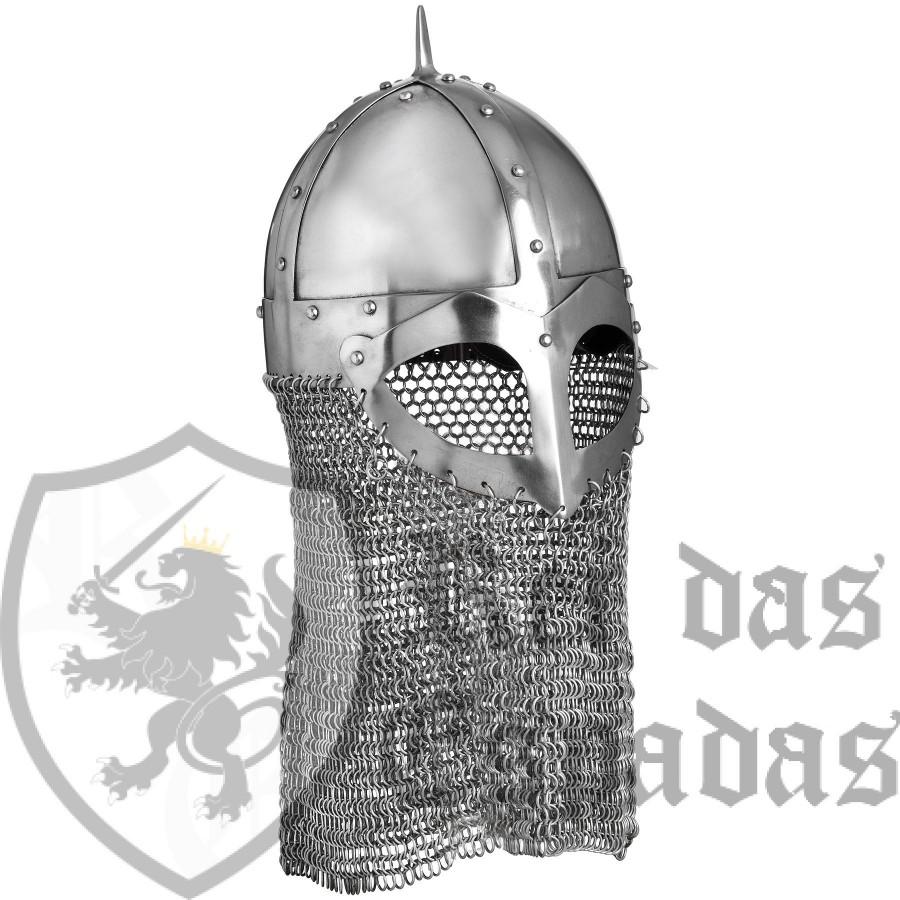 Casco vikingo funcional