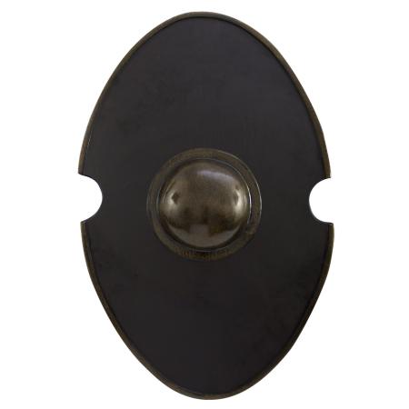 Elliptical shell, black